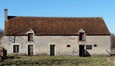 Forêt d'Orléans : Ferme à Vitry-aux-Loges