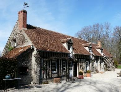 Forêt d'Orléans : Longère à Vitry-aux-Loges