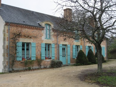 Sologne : Linéaire rural à Marcilly en Villette