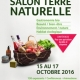 Salon Terre naturelle du 15 au 17 octobre 2016